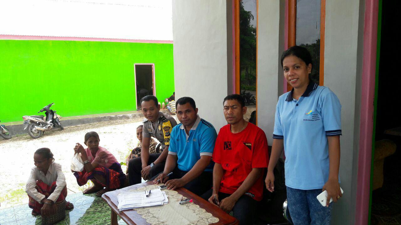 Bhabinkamtibmas | Sambang Dan Mengikuti Kegiatan Falidasi Data Bantuan PKH