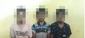 Polsek Urban Laura Berhasil Tangkap 3 Pencuri di Pasar Lama Radamata