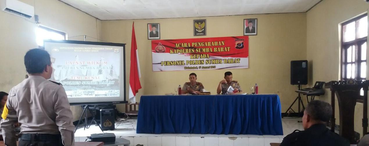 Tatap Muka Bersama AKBP Muhamad Erwin dan Kapolres Baru serta Seluruh Personil