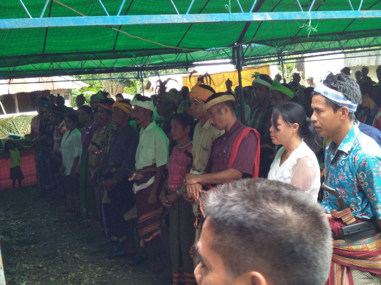 Pengukuhan Gapoktan di Desa Nyura Lele