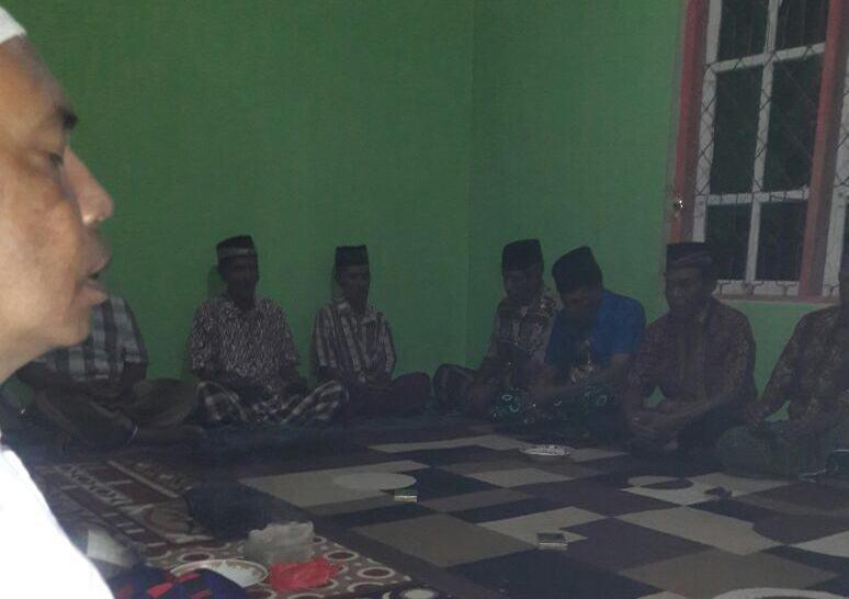 Polsubsektor KP3 Waikelo Sosialisasikan Maklumat Kapolres Sumba Barat pada Ajang Silaturahmi