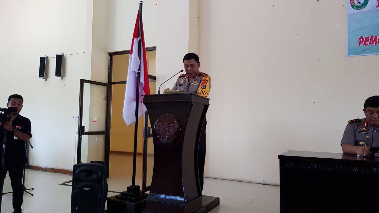 Tatap Muka Dengan Pemkab Sumba Barat Daya Awali Kunker Kapolda NTT Irjen Pol Drs. Raja Erizman