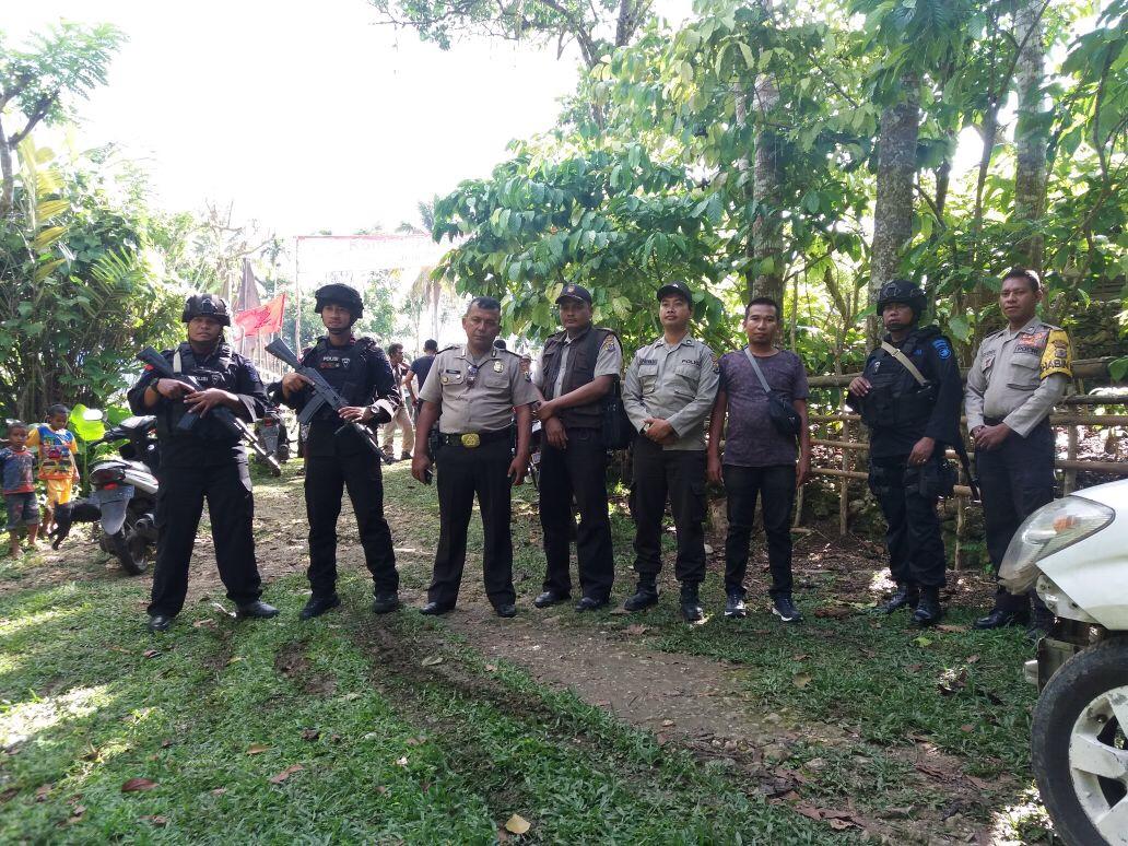 Pengamanan Kampanye Paslon Bupati dan Wakil Bupati