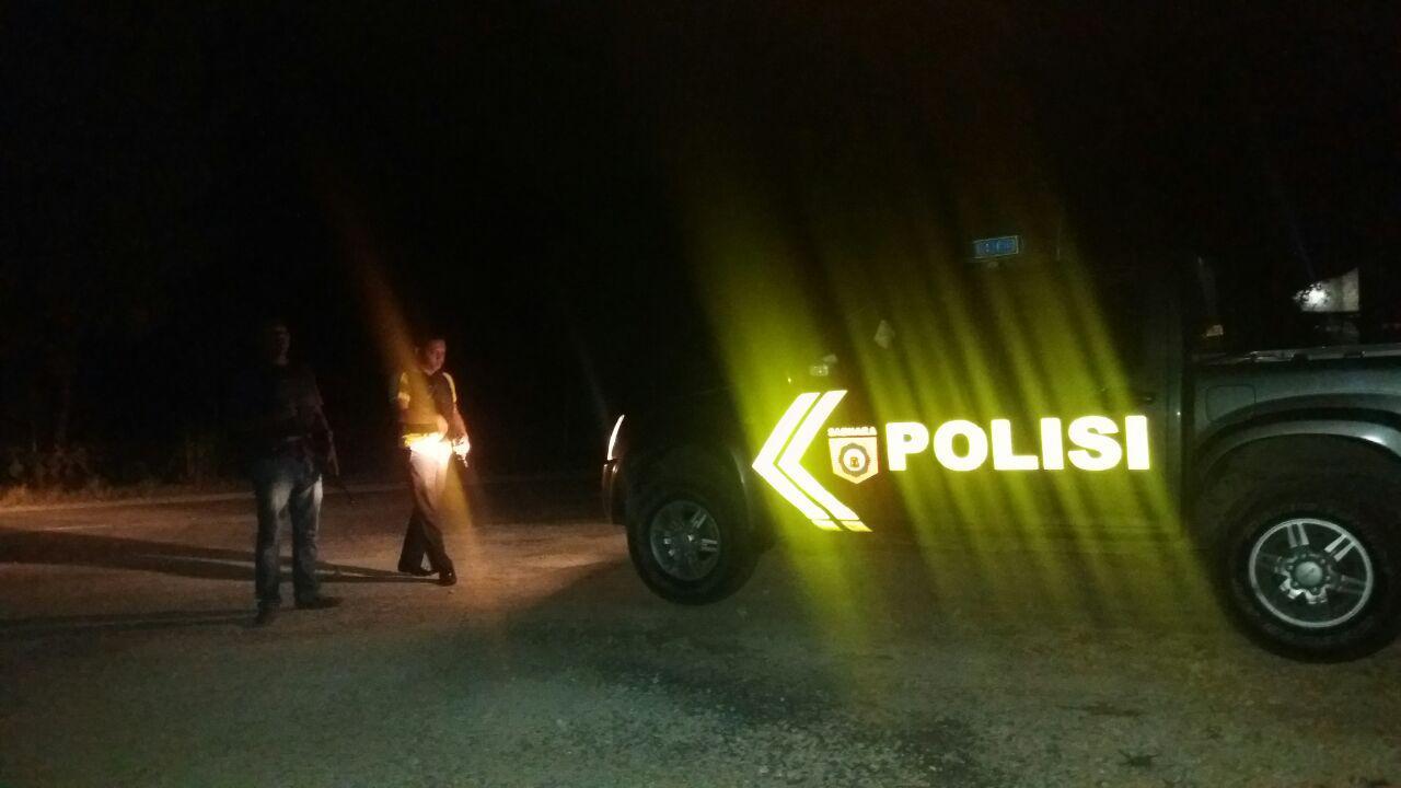 Mengantisipasi Tindak Kejahatan, Polsek Loura Tingkatkan Patroli Malam