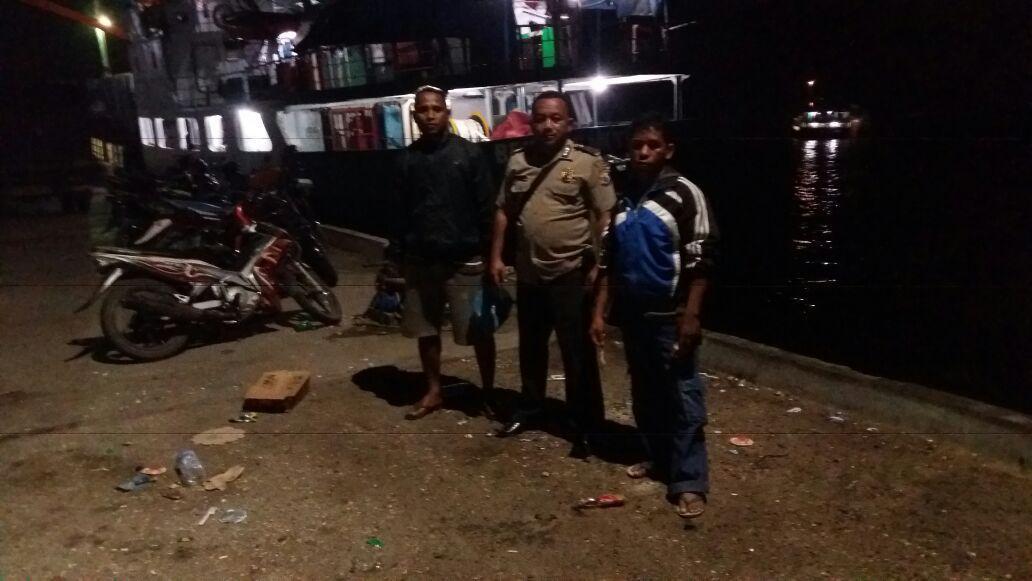 Menindaklanjuti Perintah Kapolres, Polsubsektor KP3 Laut Waikelo Gelar Patroli Malam
