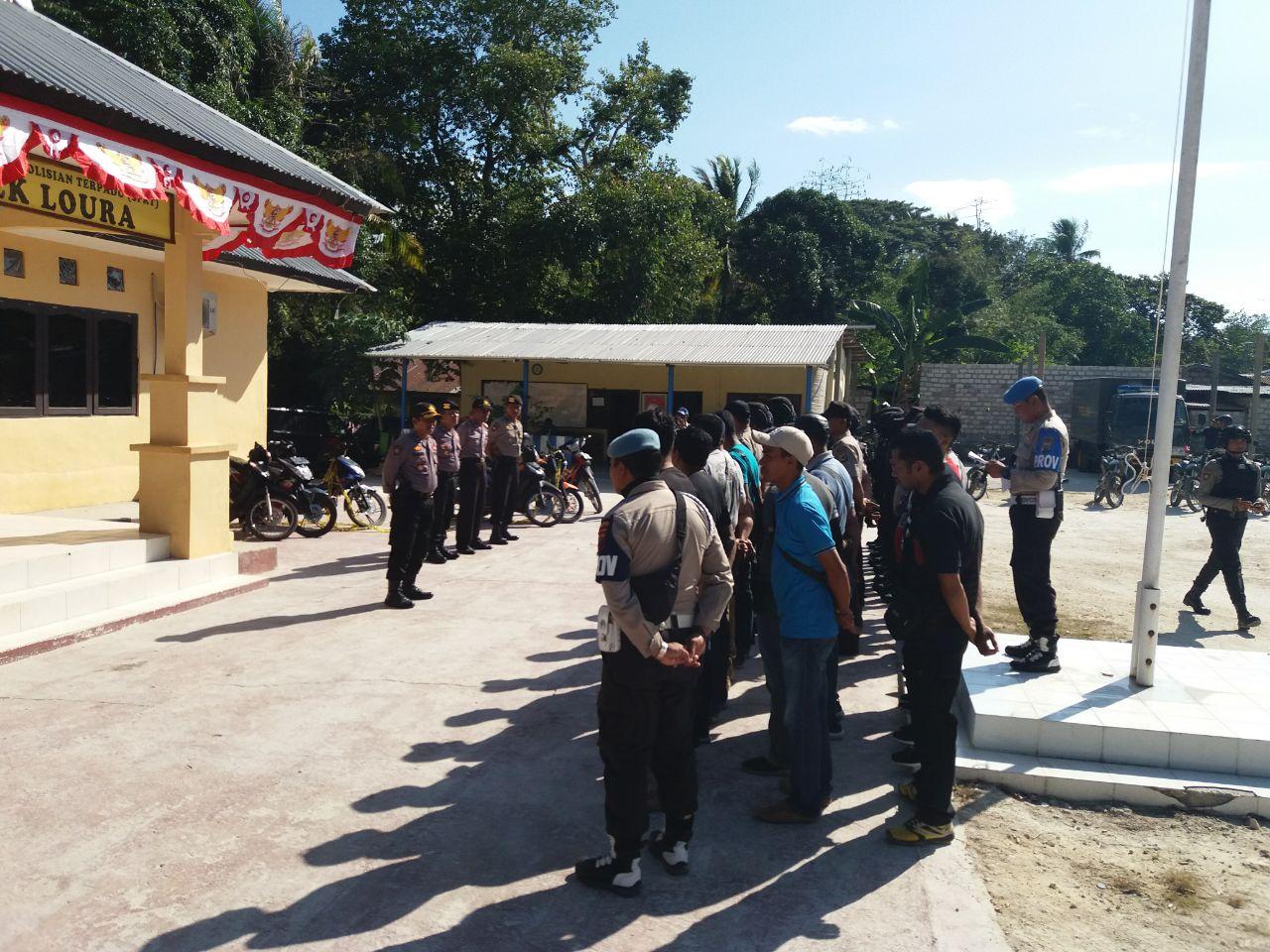 Pengamanan Masih Terus Di Lakukan Pasca Putusan MK Terkait Pilkada SBD
