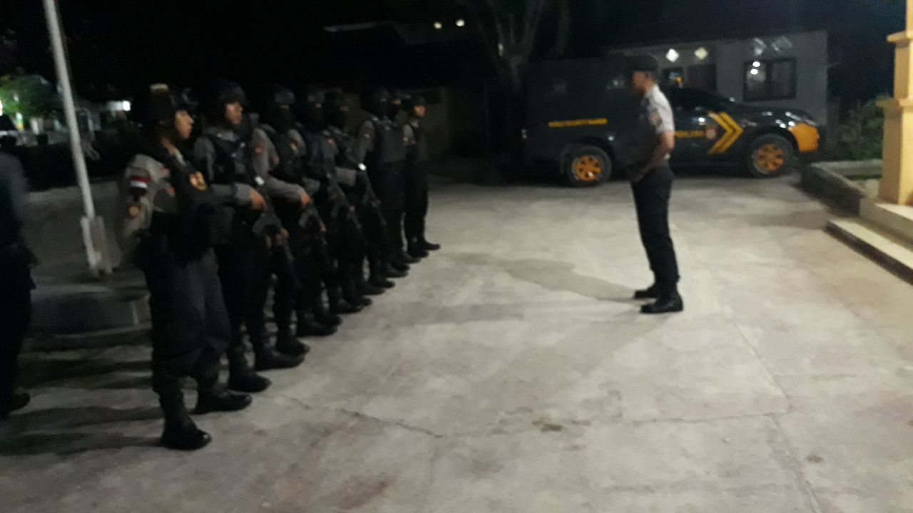 Raimas Tingkatkan Patroli Di Kota Waitabula