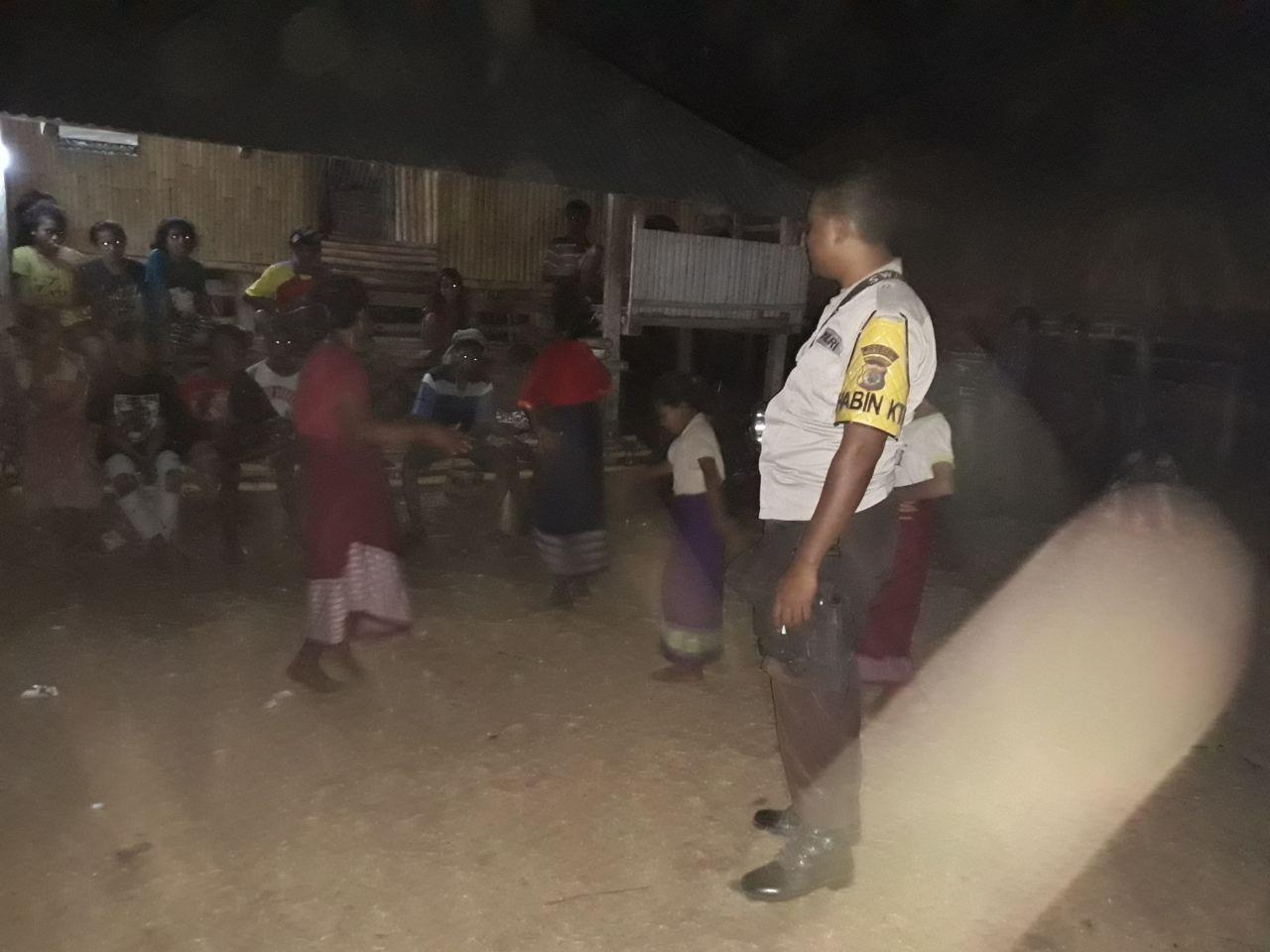 Polsek Bondo Kodi | Patroli Dan Sambang Warga Demi Situasi Kamtibmas Yang Konfusif