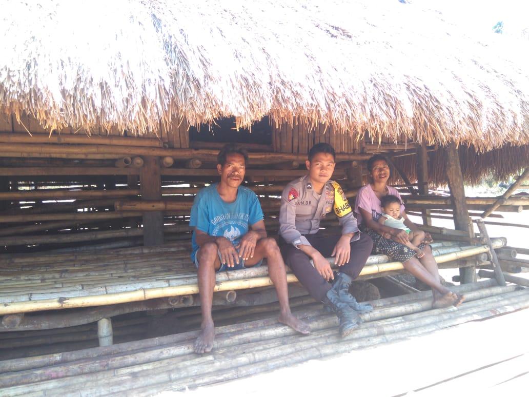 Imbauan Bripda Iin, Bhabinkamtibmas Polsek Kodi Bangedo untuk Warga Desa Binaannya