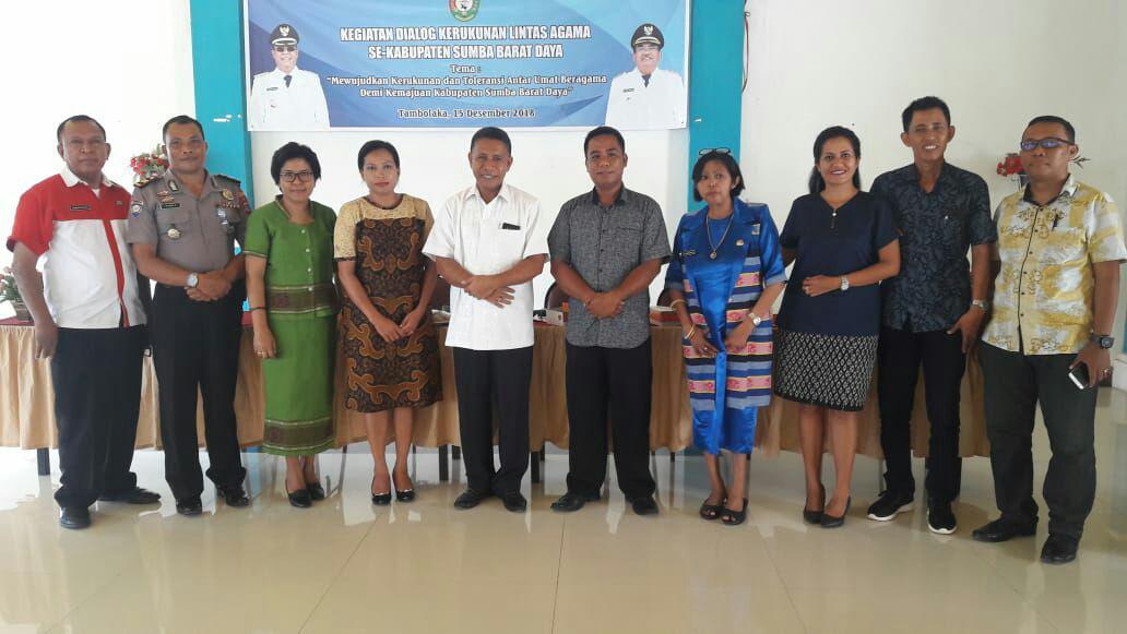 Pertemuan Lintas Agama di Kabupaten SBD
