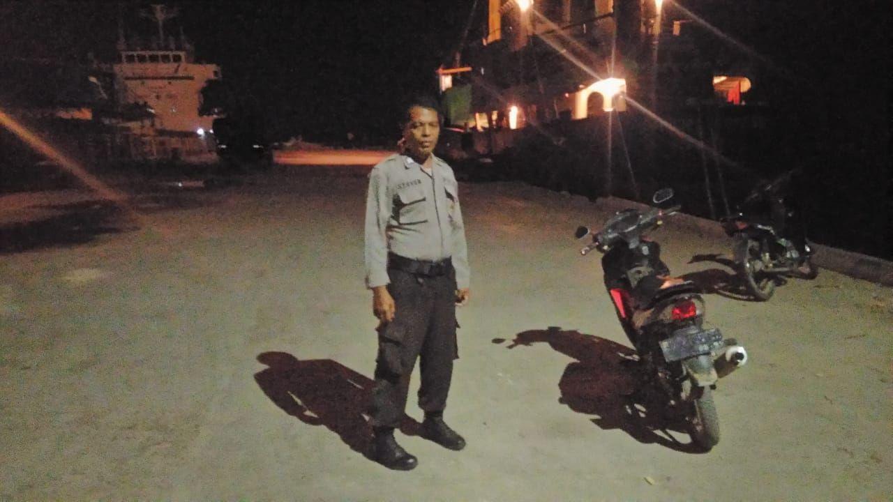 KP3 Laut Waikelo Tingkatkan Patroli Malam