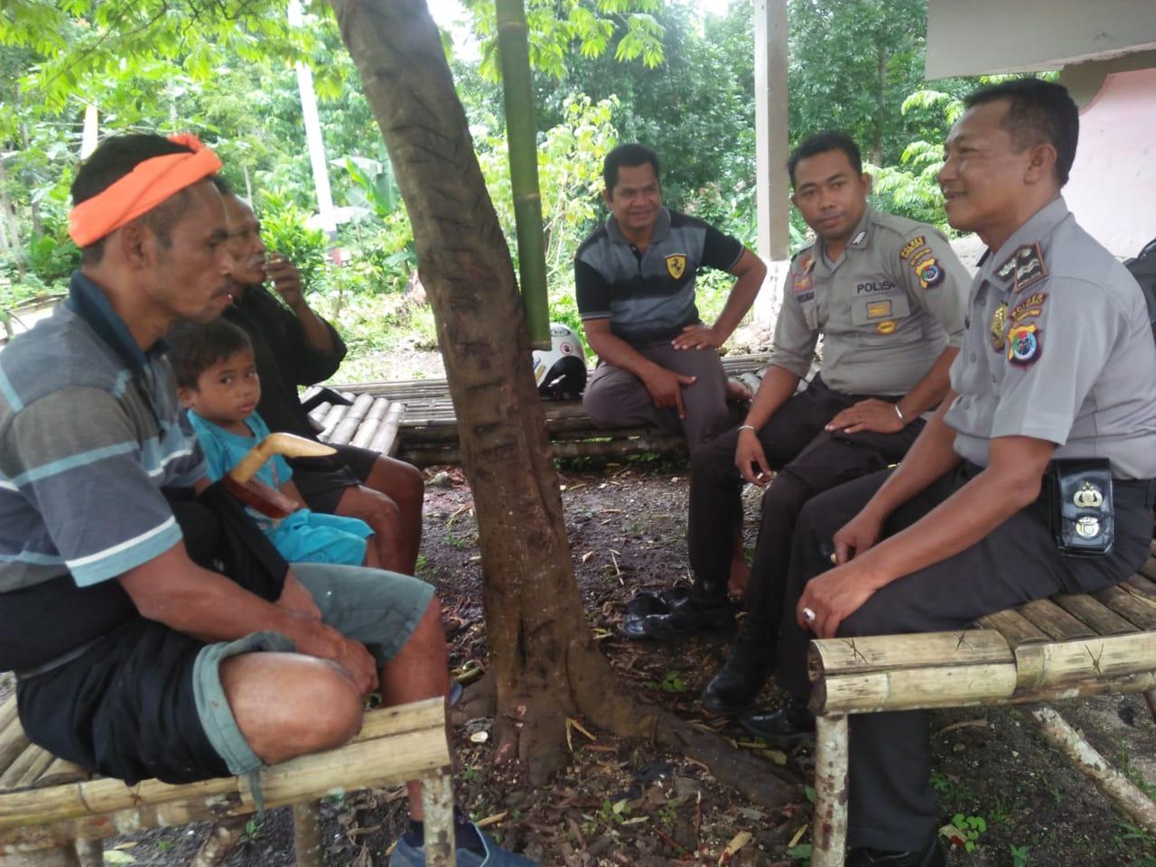 Pengamanan Kampanye di Wilayah Tana Righu oleh Polsek Loli
