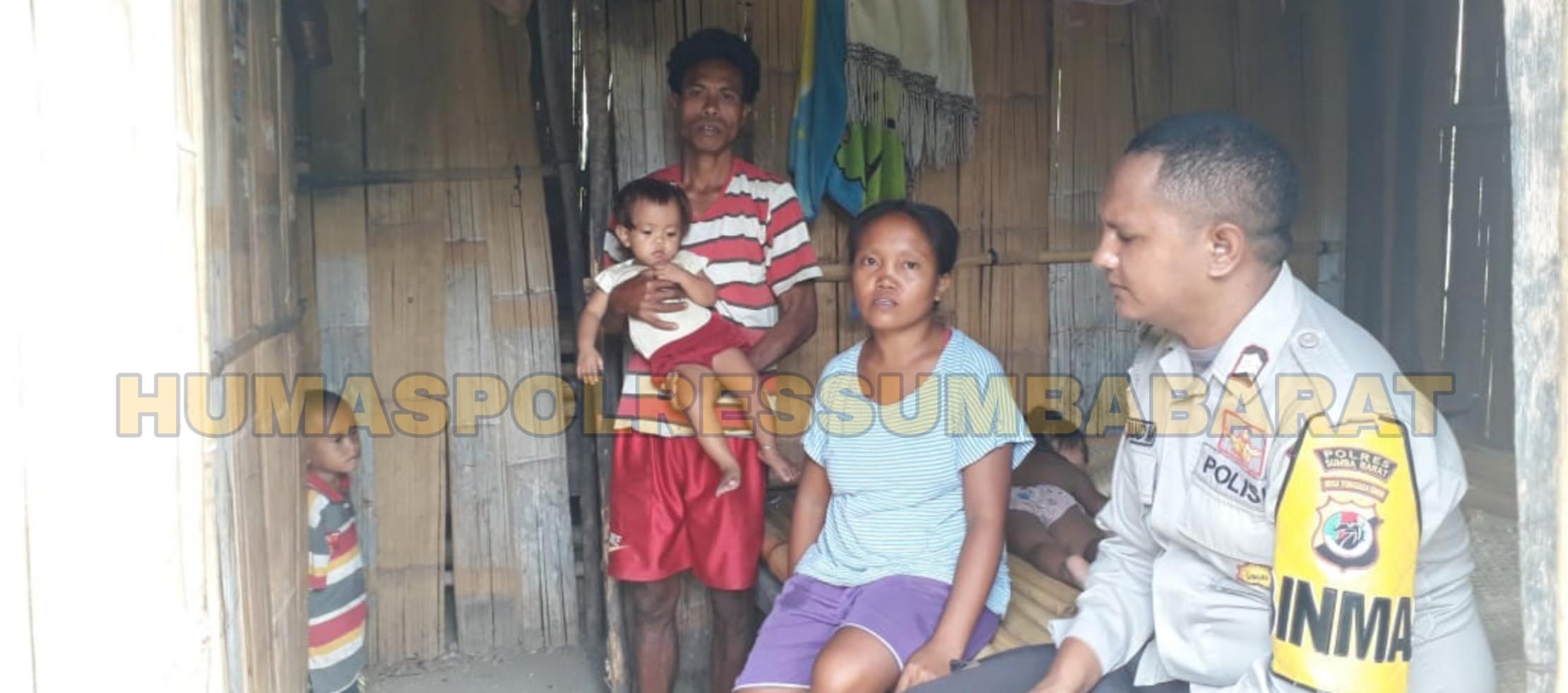 Pantau Distribusi PKH, Brigpol Siprianus Sekaligus Ajak Warga Binaan Sukseskan Pemilu 2019