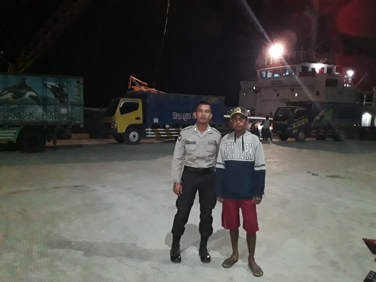 Patroli Rutin KP3 Laut Waikelo