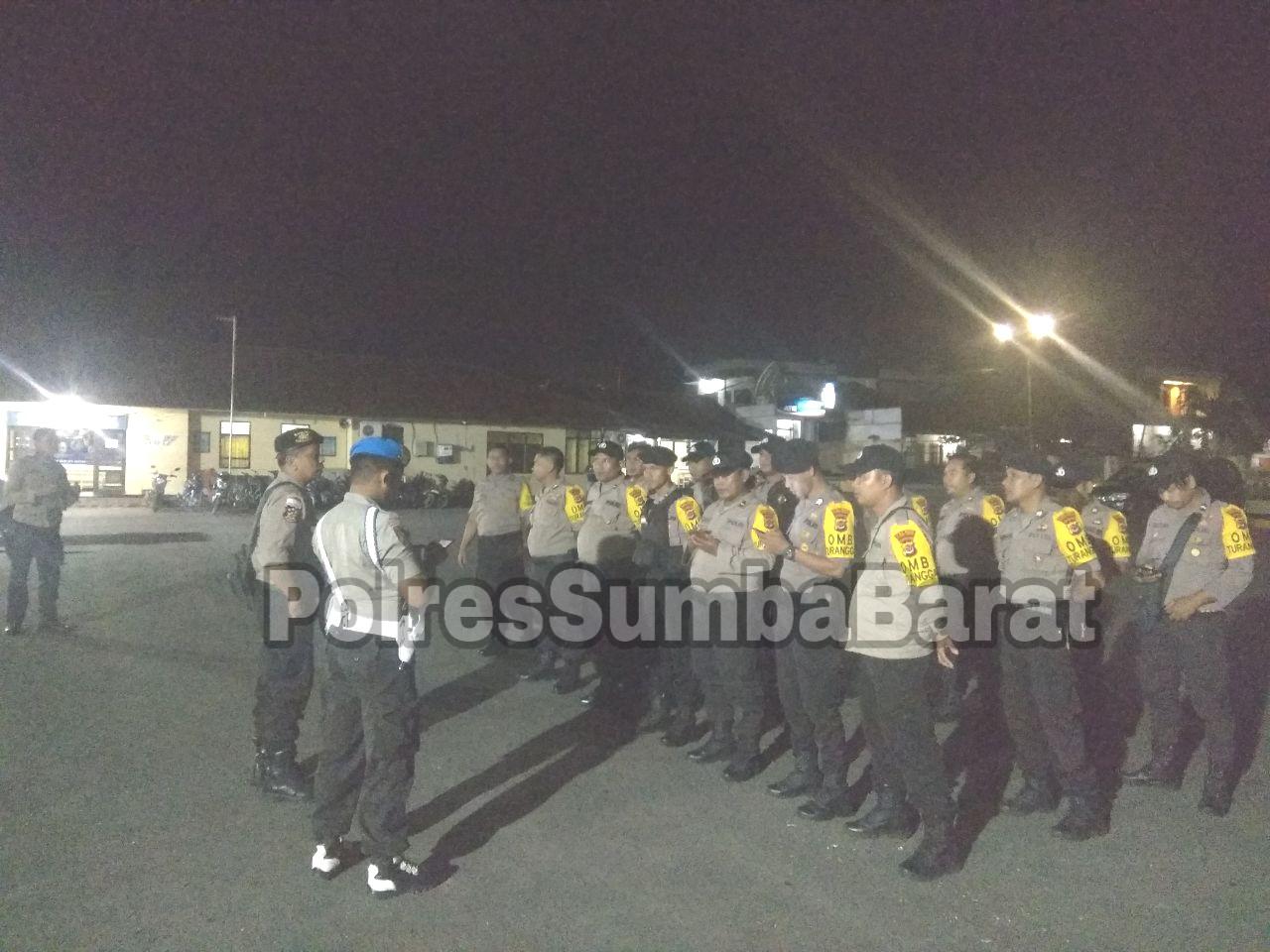 Tim Peleton Kerangka Gelar Patroli dan Pemantuan Ketat di Kantor PPK