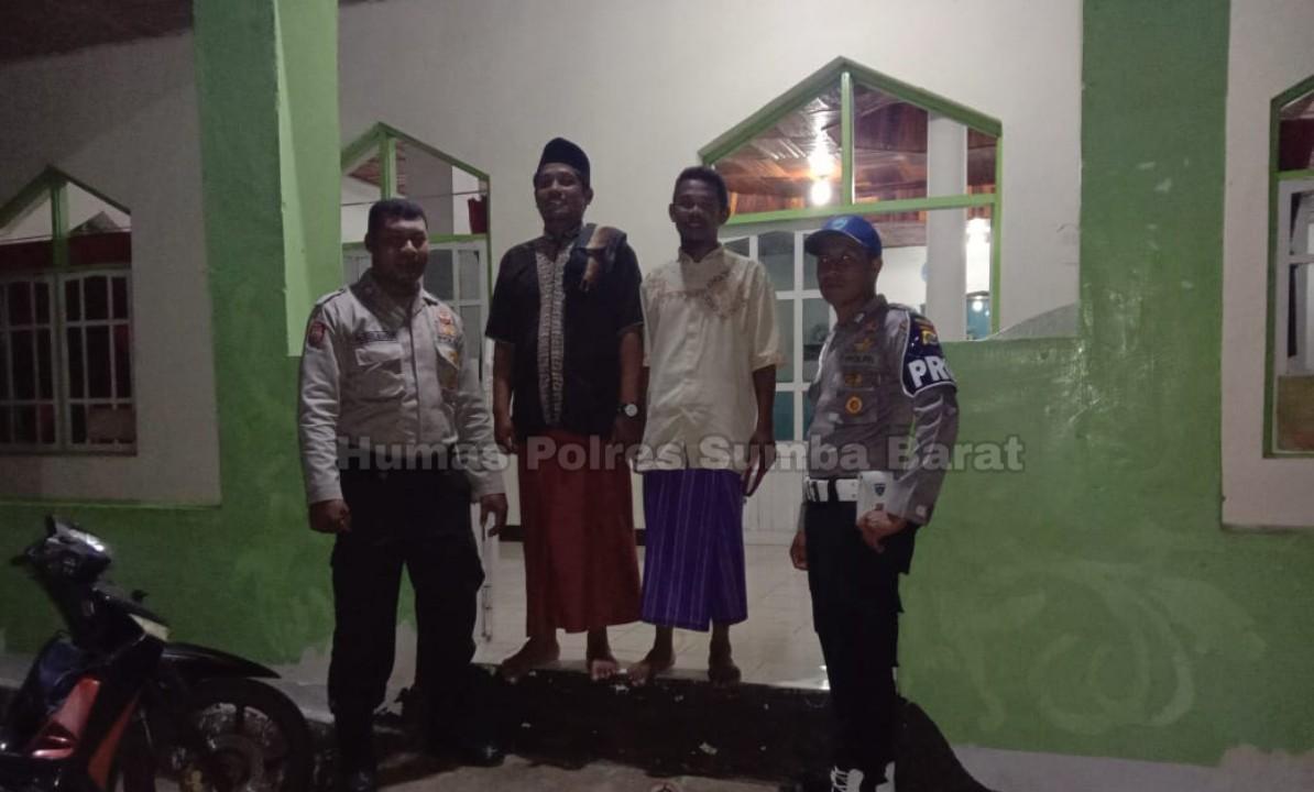 Giat Patroli Malam Demi Menciptakan Situasi Kamtibmas Polsek Mamboro