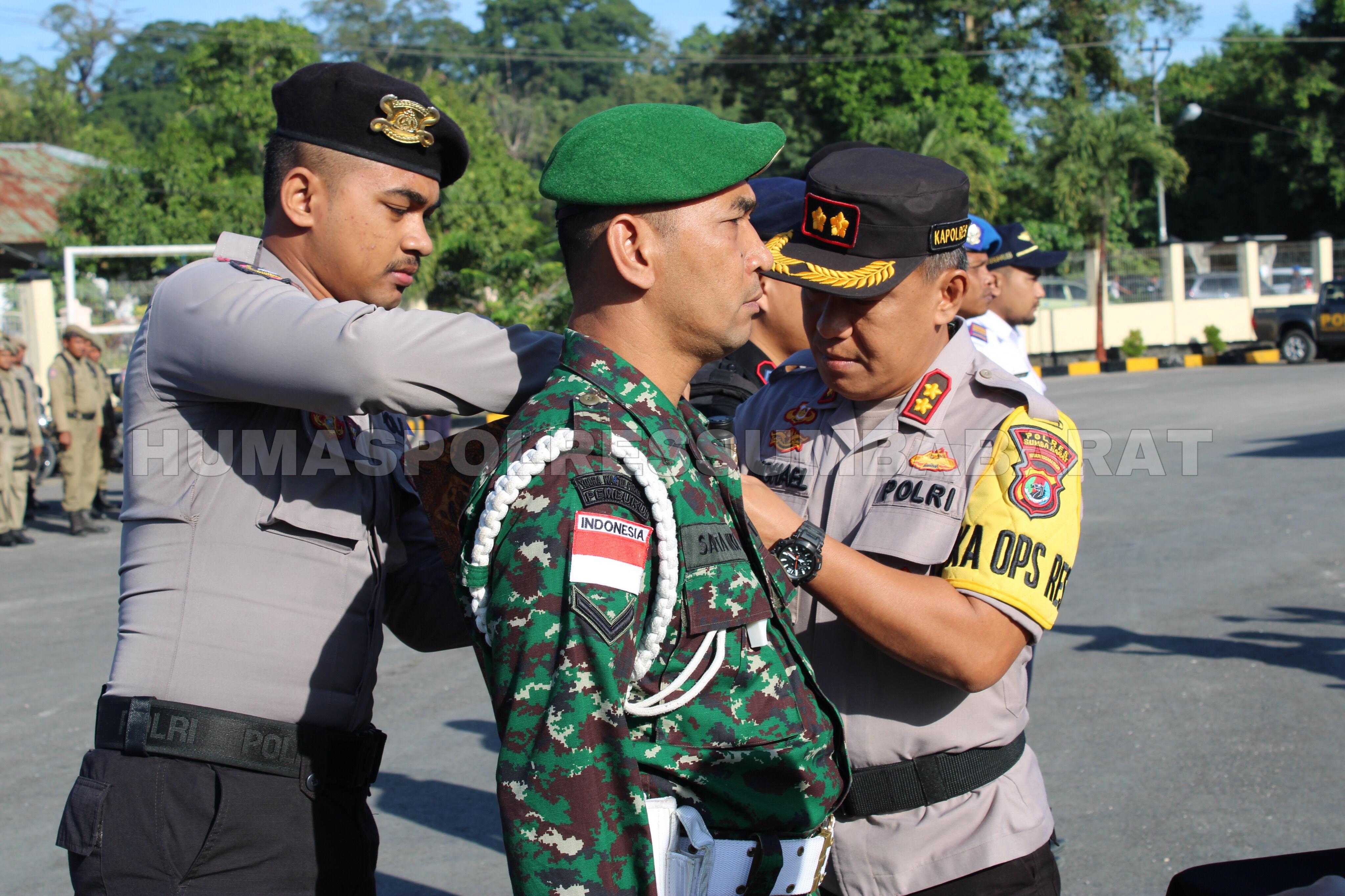Apel Gelar Pasukan Polres Sumba Barat Dalam Rangka Operasi Kepolisian Terpusat