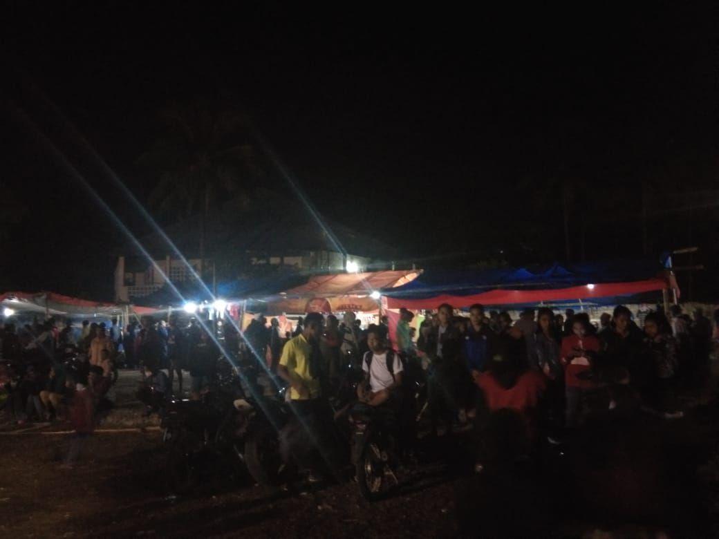 Patroli Malam dan Pengamanan Kegiatan Masyarakat Terus Dilakukan