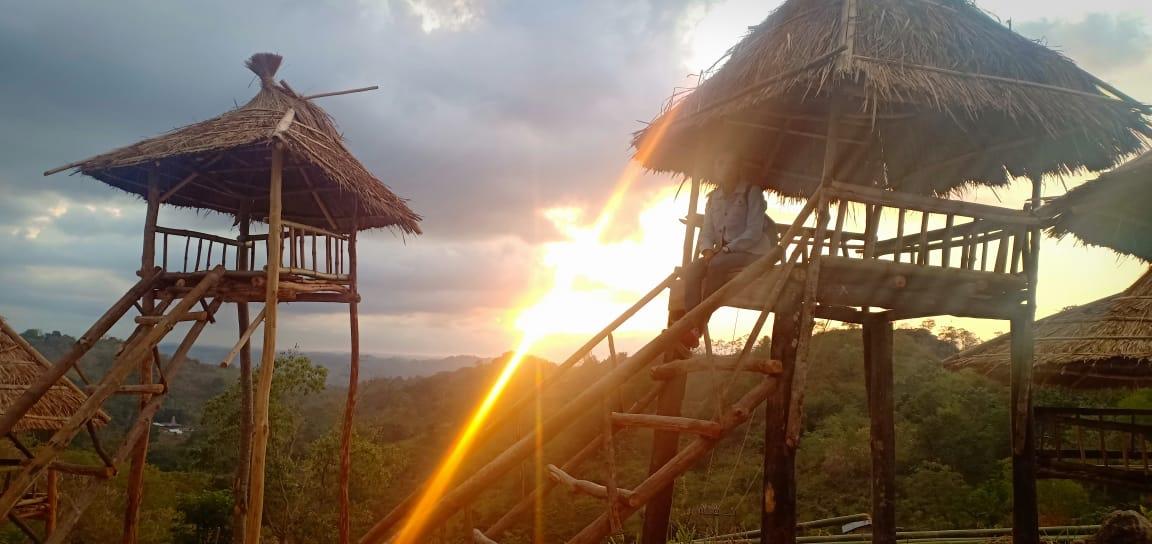 Taman Desa Bukit Katukung yang Instagramble, Wajib Dikunjungi