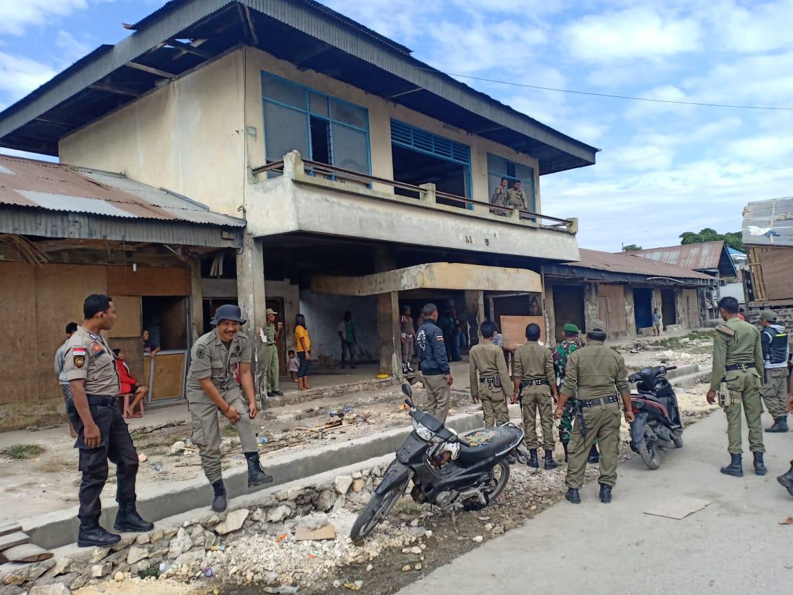 Penertiban dan Imbauan kepada PKL Terus Dilakukan di Kota Waikabubak