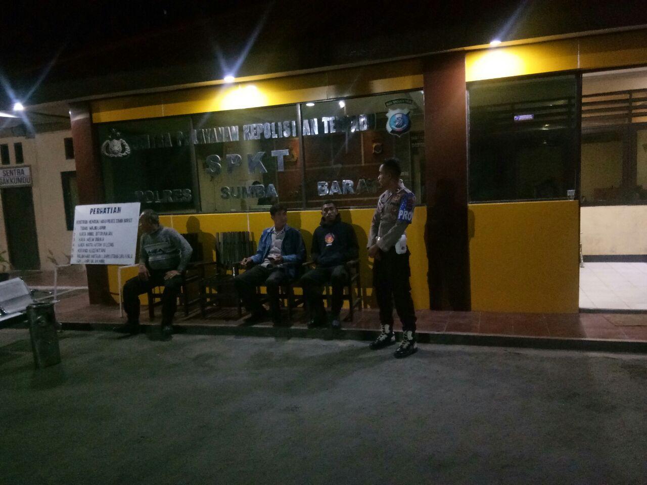 Polres Sumba Barat Laksanakan Patroli Rutin, Demi Situasi Kamtibmas Yang Kondusif