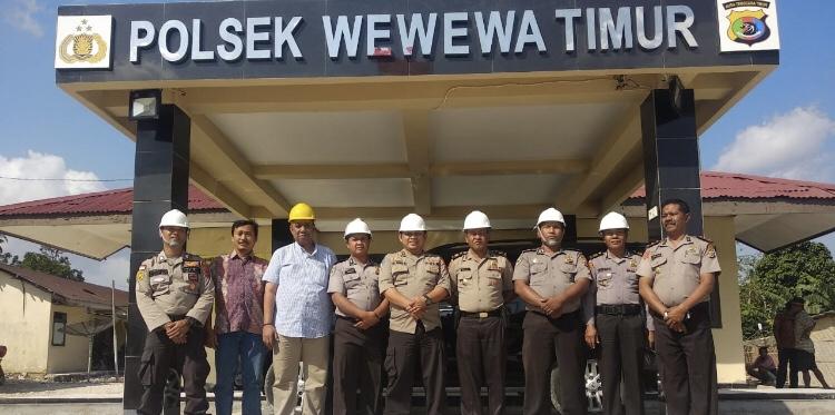 Kunjungi Pembangunan Sarana Kedinasan 2 Polsek, Tim Itwasda Polda NTT Sampaikan Ini ...