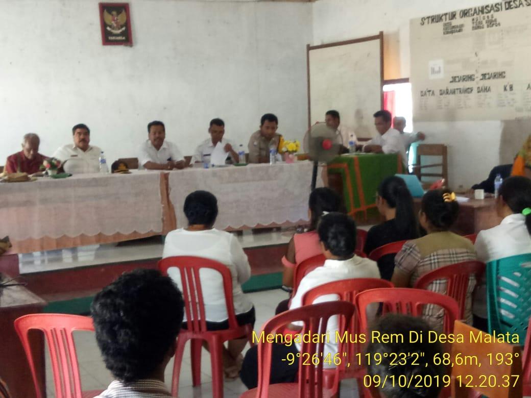 Pengadaan Pos Kamling Menjadi Usulan Bhabinkamtibmas Dalam Musrenbangdes