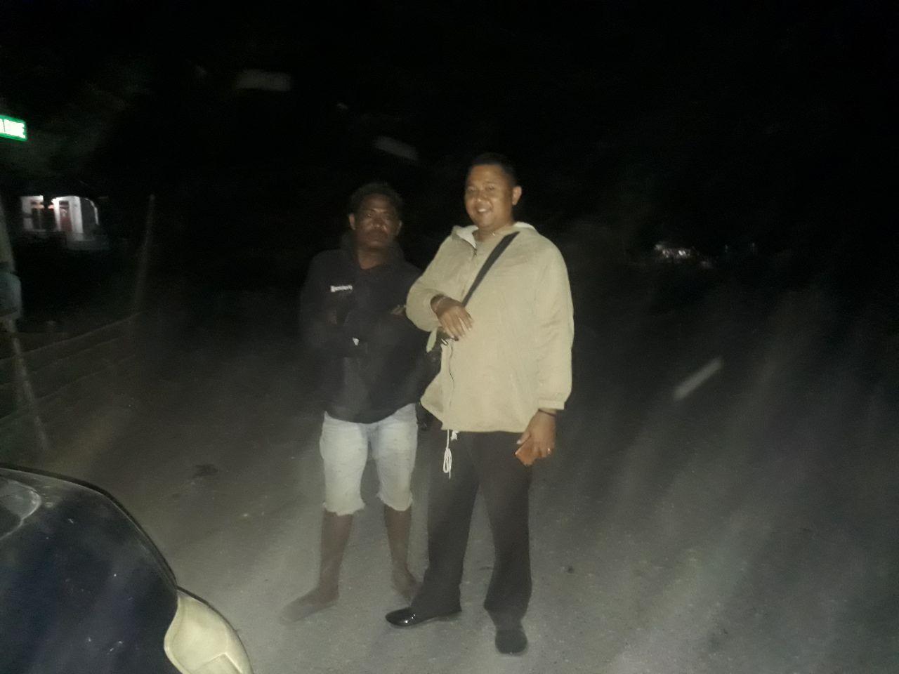 Antisipasi Kejahatan,Polsek Loura Laksanakan Patroli Malam