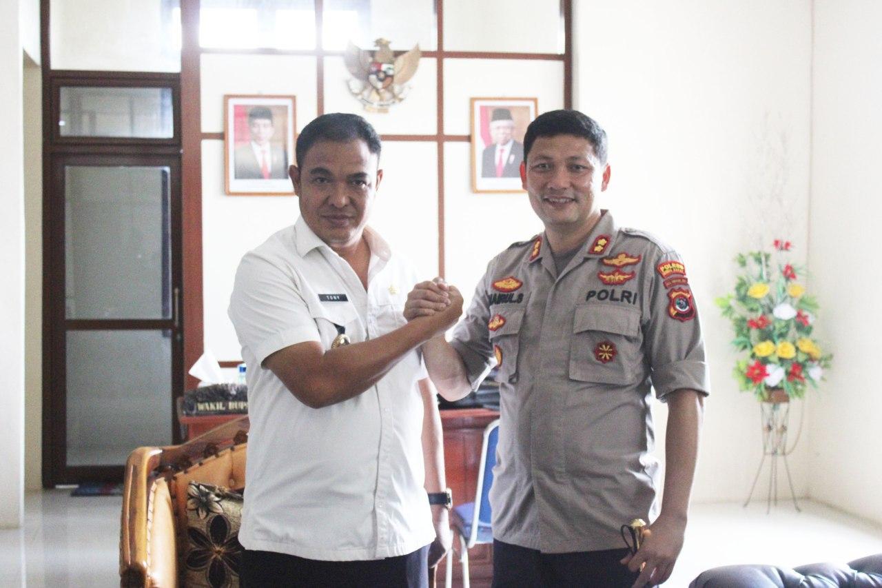 Bertemu Wakil Bupati dan Ketua DPRD, Kapolres Sumba Barat Jalin Silaturahmi