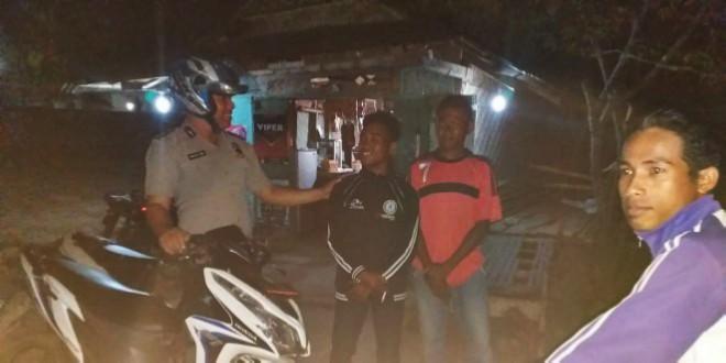 Patroli Malam Polsek Mamboro Cegah Situasi Kamtibmas