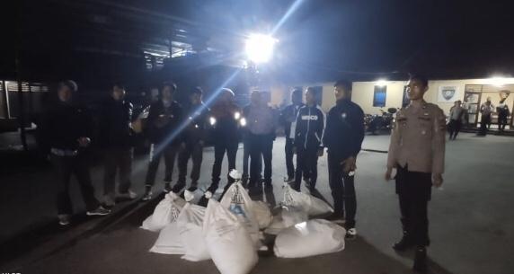 Melibatkan 35 Personel, 300 Liter Miras Berhasil Diamankan pada Gelaran Operasi Pekat Turangga 2019