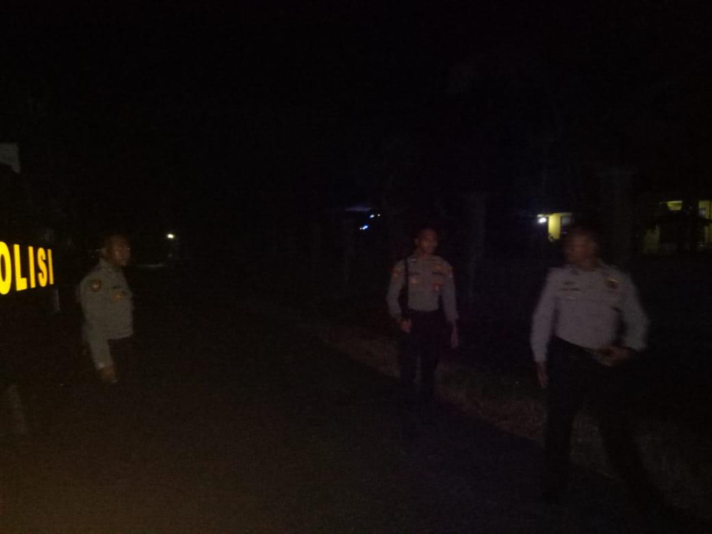 Ton Dalmas Polres Sumba Barat Laksanakan Patroli Rutin