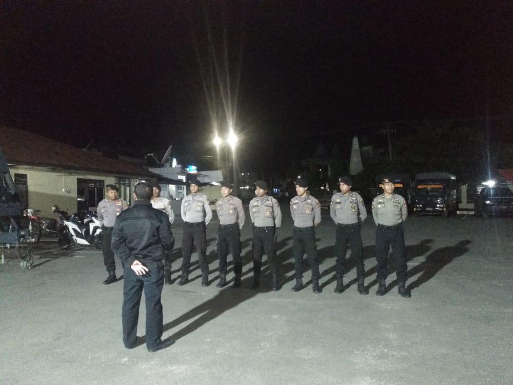 Menekan Angka Kriminalisme, Patroli Malam Masih Terus Dimaksimalkan