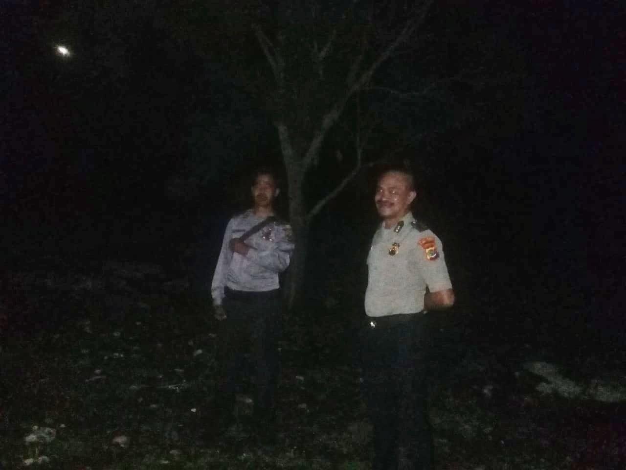 Tekan Potensi Kriminalitas, Polsek Mamboro Terus Tingkatkan Patroli Malam
