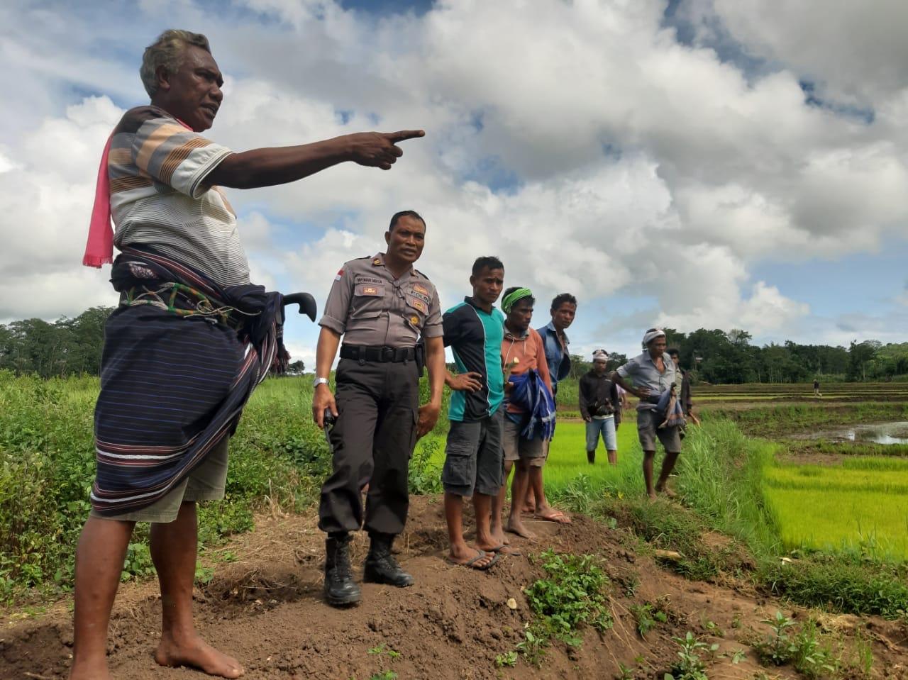 Kunjungi Pihak Terlapor DT, Kasat Binmas Tindak Lanjuti Upaya Mediasi Sengketa Tanah