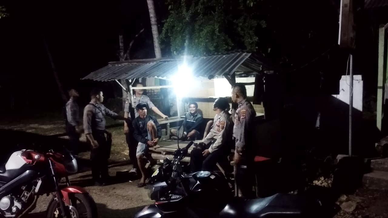 Antisipasi Kejahatan Di Malam hari, Ton Turjawali Gelar Patroli