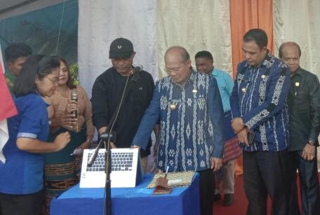 Gubernur NTT Launching 'Desa Digital' di Desa Malata Kabupaten Sumba Barat